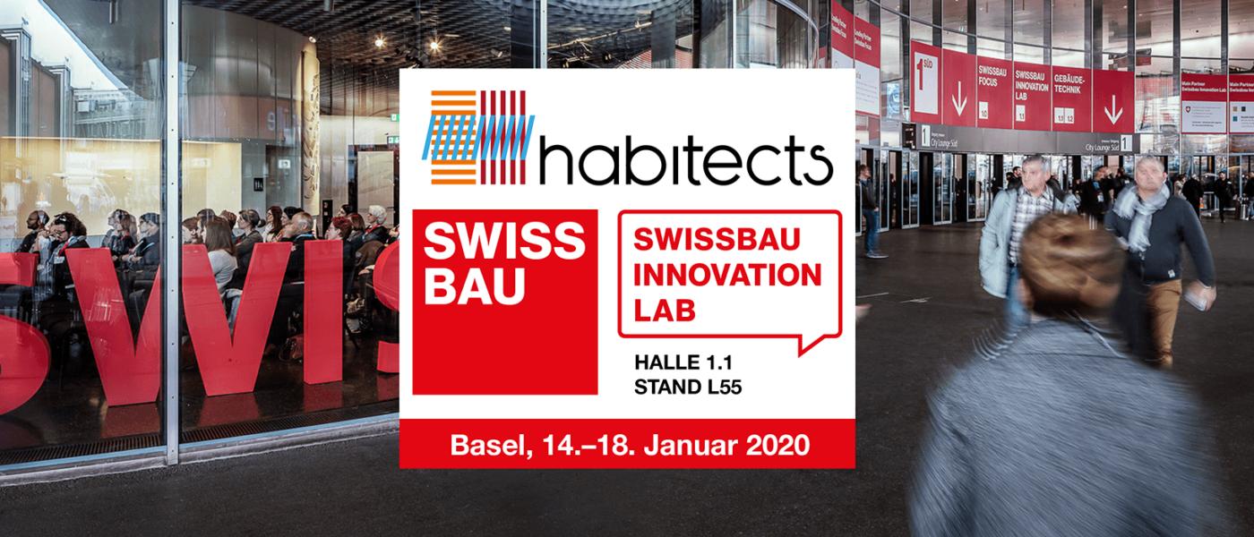 Habitects auf der Swissbau 2020: Hallo 1.1, Stand L55